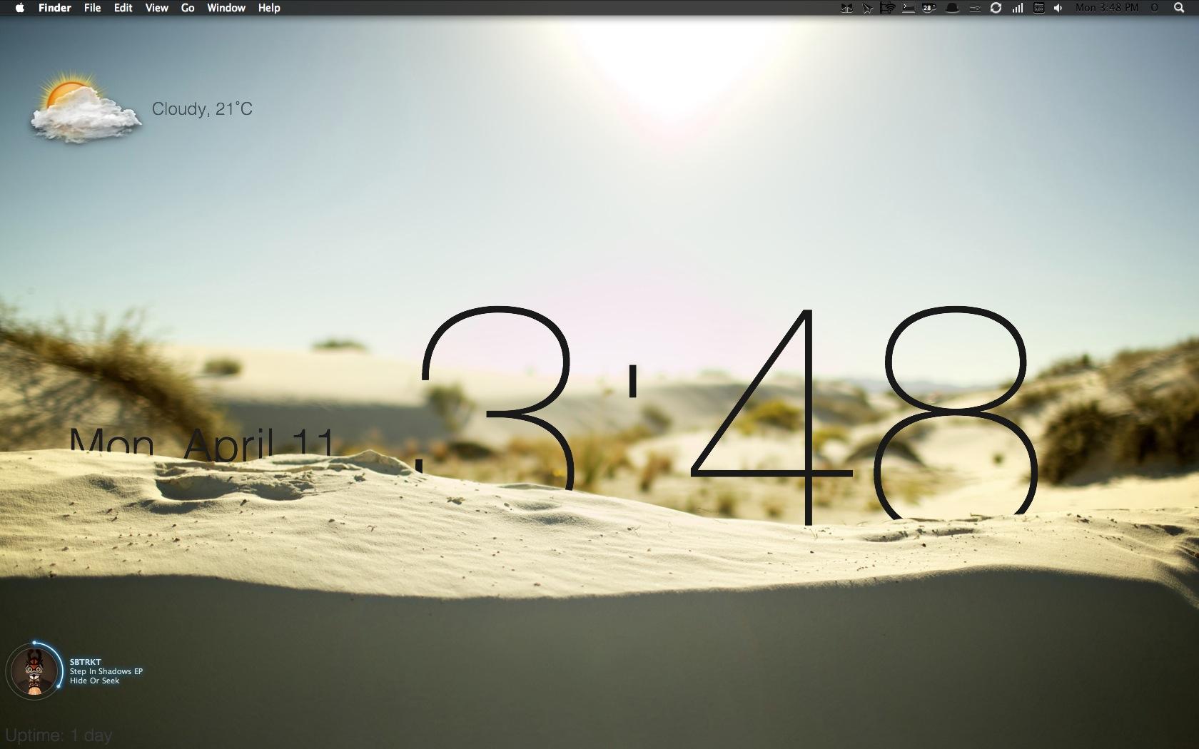 Icones bloquées sur bureau mac windows peut presque ressembler à